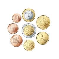 Italy 2002 1 cent - 2 euro set - UNC