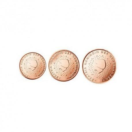 Nizozemska 2012 1 cent - 5 cent set - UNC
