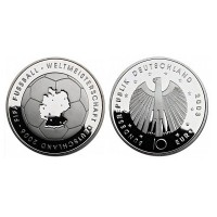 """Nemčija 10 evro 2003 """"Svetovno prvenstvo v nogometu"""" - D - UNC"""