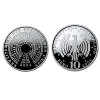 """Nemčija 10 evro 2004 """"Širitev EU"""" - G - UNC"""