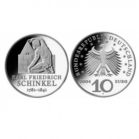 "Germany 10 euro 2006 ""Schinkel"" - F - UNC"