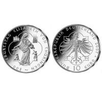 """Germany 10 euro 2007 """"Elisabeth von Thüringen"""" - A - UNC"""