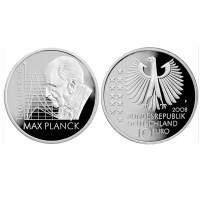 """Nemčija 10 evro 2008 """"Max Planck"""" - F - UNC"""