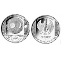 "Germany 10 euro 2008 ""Nebra Sky Disc"" - A - UNC"