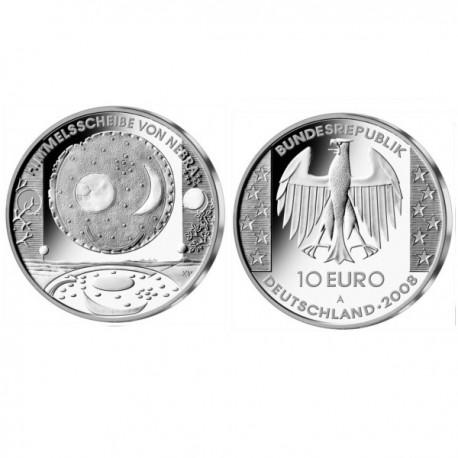 """Nemčija 10 evro 2008 """"Nebra"""" - A - UNC"""