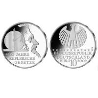 "Germany 10 euro 2009 ""Kepler"" - F - UNC"