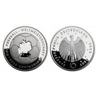 """Nemčija 10 evro 2003 """"Svetovno prvenstvo v nogometu"""" - G - UNC"""