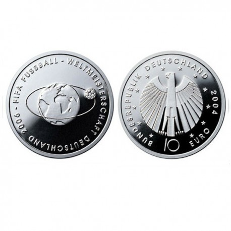 "Germany 10 euro 2004 ""Football World Cup 2006"" - G - UNC"