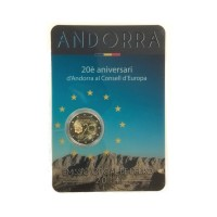 "Andorra (2014) 2016 - ""Council of Europe"" - UNC -blister"