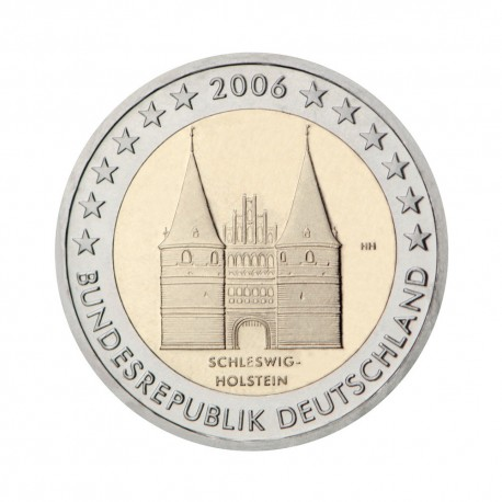 """Nemčija 2006 - """"Schleswig-Holstein"""" - A - UNC"""