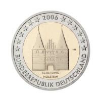 """Nemčija 2006 - """"Schleswig-Holstein"""" - G - UNC"""