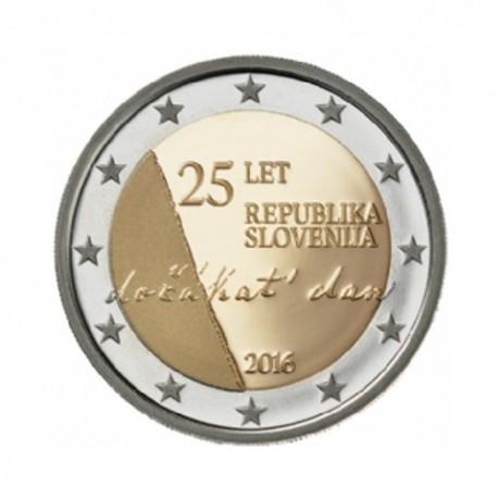 """Slovenija 2016 - """"Osamosvojitev"""" - UNC"""