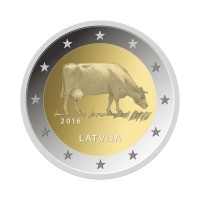 "Latvia 2016 - ""Cow"" - UNC"