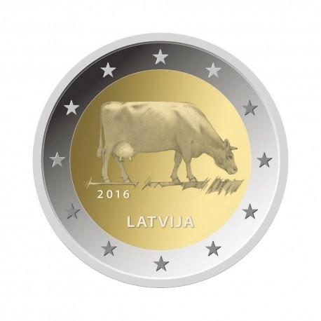 """Latvia 2016 - """"Cow"""" - UNC"""
