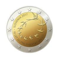"Slovenija 2017 - ""10 let evra"" - UNC"