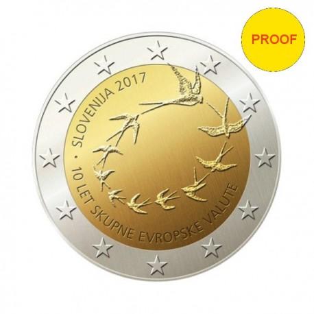 "Slovenija 2017 - ""10 let evra"" - PROOF"