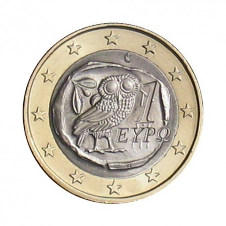 Greece 2010 - 1 euro - UNC