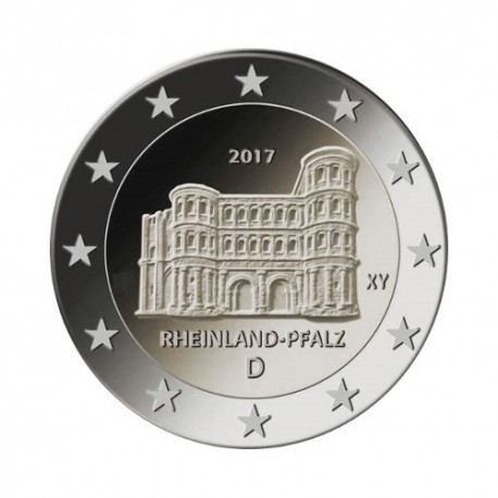 "Germany 2017 - ""Porta Nigra"" - F - UNC"