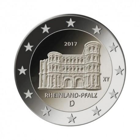 "Germany 2017 - ""Porta Nigra"" - J - UNC"