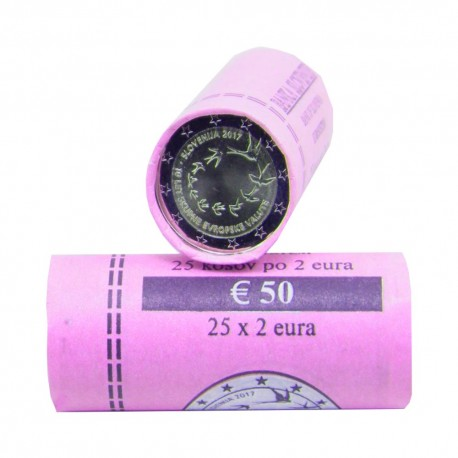"Slovenia 2017 - ""Euro introduction"" - ROLL"