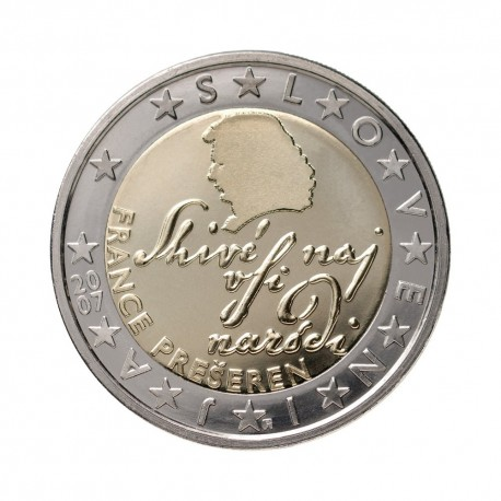 Slovenia 2 euro 2007 - UNC