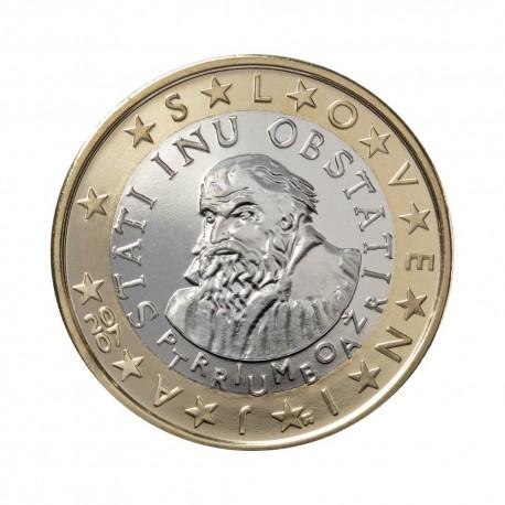 Slovenia 1 euro 2007 - UNC