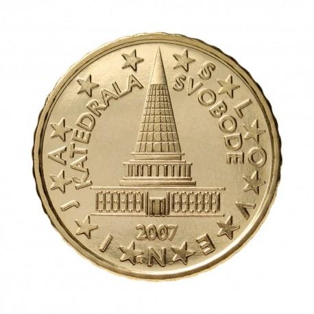 Slovenija 10 centov 2007 - UNC