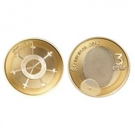"""Slovenija 3 evre 2012 - """"Prva olimpijska medalja"""" - UNC"""