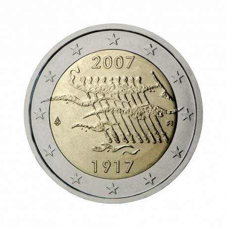 """Finland 2007 - """"Independence"""" - UNC"""
