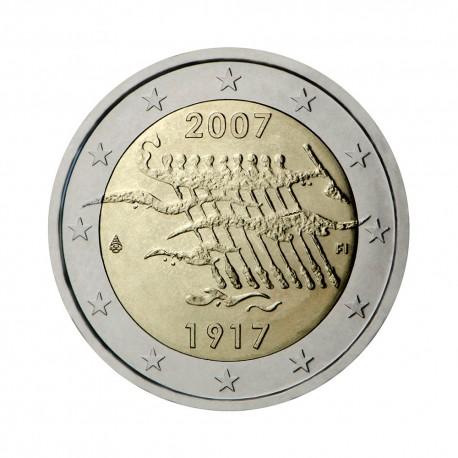 """Finska 2007 - """"Neodvisnost"""" - UNC"""