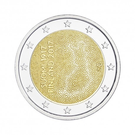 "Finland 2 euro 2017 - ""Indenpendence"" - UNC"