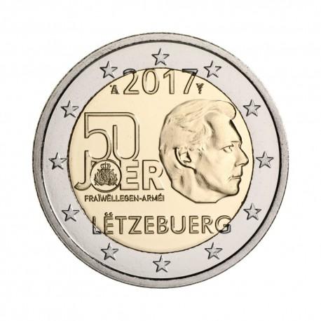 "Luxemburg 2017 - ""Vojska"" - UNC"