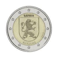 "Latvija 2017 - ""Regija Kurzeme"" - UNC"