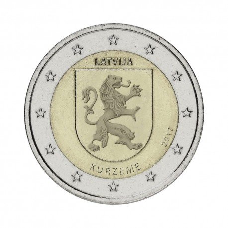 "Latvia 2017 - ""Region Kurzeme"" - UNC"