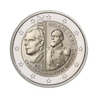 "Luxemburg 2017 - ""Veliki vojvoda Wiliam III"" - UNC"