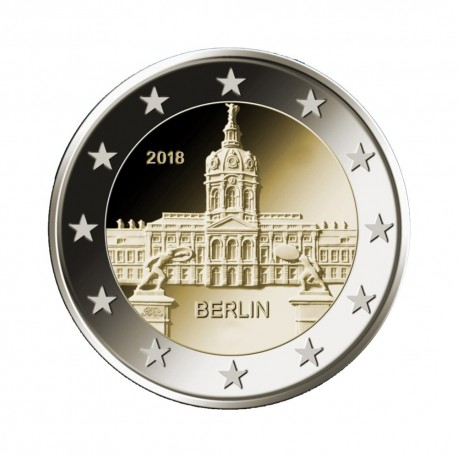 "Germany 2018 - ""Charlottenburg Palace"" - J - UNC"