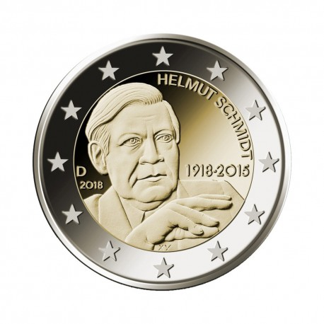 """Germany 2018 - """"Helmut Schmidt"""" - G - UNC"""