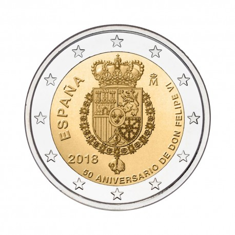 "Spain 2018 - ""Felipe VI"" - UNC"