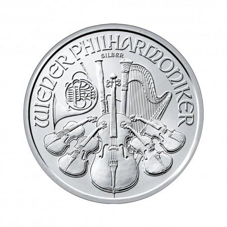Dunajski filhamoniki 1 oz srebrnik 2018