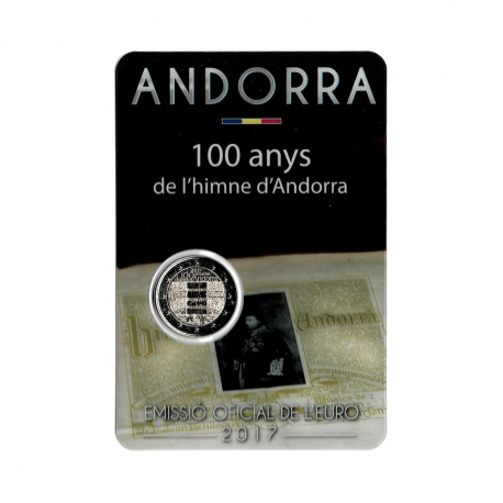 "Andora 2017 - ""Himna"" - UNC -blister"