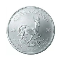 South African Krugerrand 1 oz Silver 2018