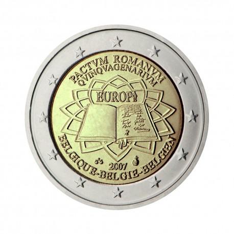 """Belgija 2007 - """"Rimska pogodba"""" - UNC"""