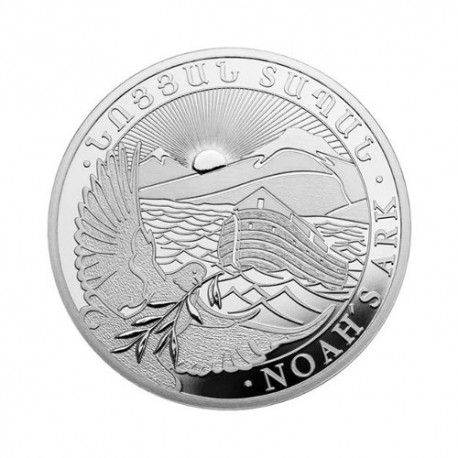 Armenian Noah's Arch 1 oz Silver 2018