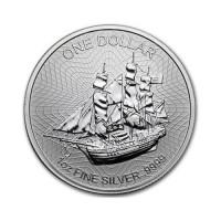 "Cookovi otoki ""Baunty"" 1 oz srebrnik 2018"