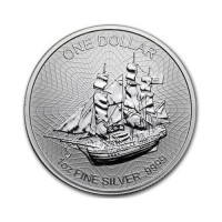 "Cookovi otoki ""Bounty"" 1 oz srebrnik 2018"