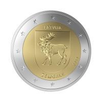 """Latvia 2018 - """"Zemgale"""" - UNC"""